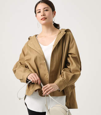 Volume Sleeves Flare Blouson