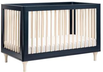 Babyletto Lolly 3-in-1 Convertible Crib, Toddler Bed Conversion Kit, Navy