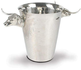 Vagabond House Longhorn Steer Steel Ice Bucket