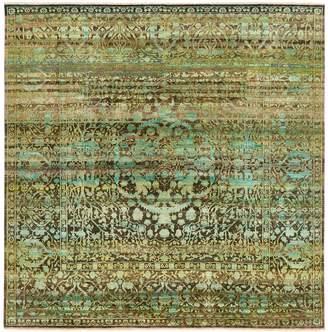 """Alchemy Silk & Wool Rug - 9'1""""x9'1"""""""