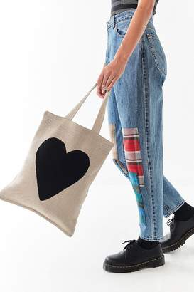 Hansel from Basel Heart Tote Bag