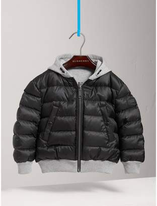 Burberry Reversible Down-filled Hooded Puffer Jacket