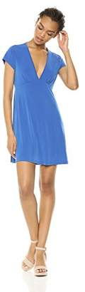 Wild Meadow Women's ITY Fit & Flare Empire Waist Seam Mini Dress XL