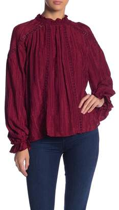 Moon River Seam Detailed Blouse