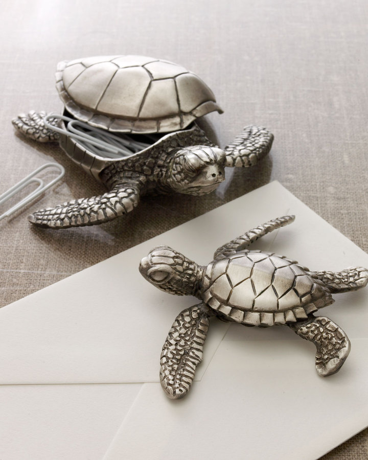 Grant Dawson Baby Sea Turtle Paperweight