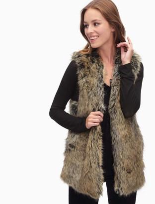 Westhaven Faux Fur Vest $228 thestylecure.com