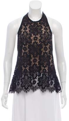 Intermix Lace Open Back Top w/ Tags