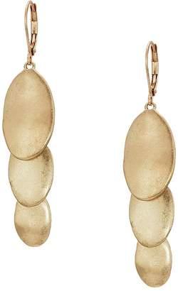 The Sak Layered Triple Drop Earrings Earring