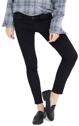 Madewell Maternity Skinny Jeans (Black Frost)