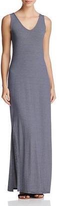 Three Dots Sleeveless Stripe Maxi Dress $136 thestylecure.com