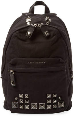 Marc Jacobs Canvas Chipped Studs Backpack