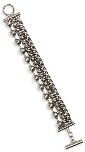 Ball & Chain Stacked Bracelet