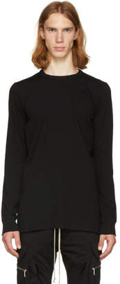 Rick Owens Black Long Sleeve Level T-Shirt