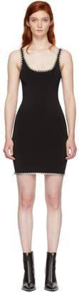 Alexander Wang Black Eyelet Cami Mini Dress