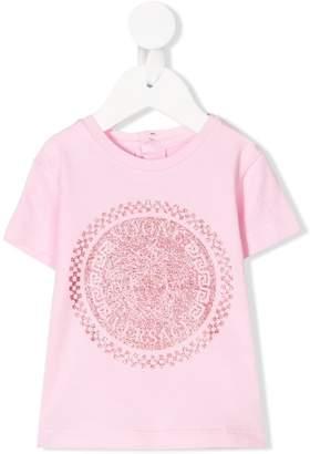 Versace glitter logo T-shirt