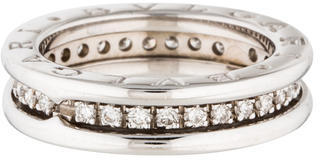 Bvlgari Bvlgari 18K Diamond B.Zero1 1-Band Ring