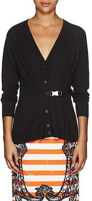 Prada Women's Virgin Wool Belted Cardigan