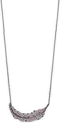 ANUJA TOLIA Feather Crystal Necklace