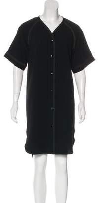 Rag & Bone Button-Up Knee-Length Dress