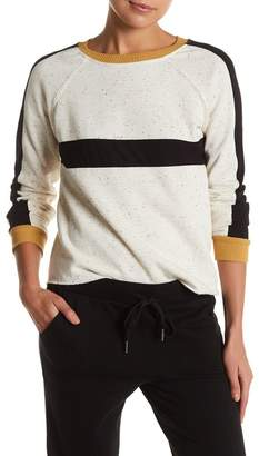 Socialite Striped Crew Neck Sweater $49 thestylecure.com