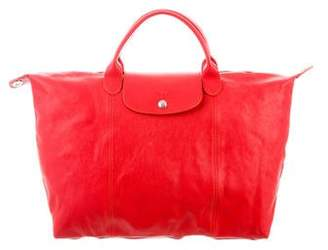 Longchamp Large Leather Handbag