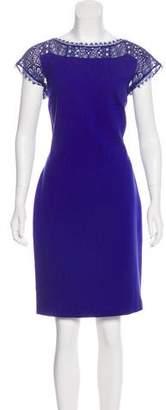 Emilio Pucci Lace-Trimmed Sheath Dress