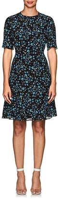 Altuzarra Women's Jae Floral Silk Knee-Length Dress