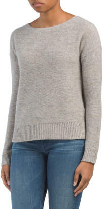 Textured Cashmere Pullover Sweater
