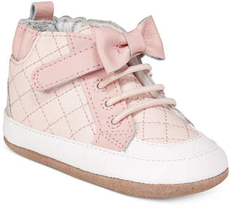 Robeez Primrose High-Top Sneakers, Baby Girls & Toddler Girls