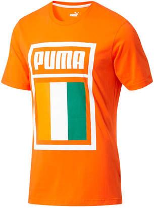 Puma Men's Forever Football Ivory Coast Soccer T-Shirt