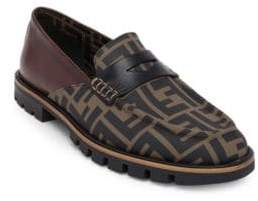 Fendi FF Print Show Loafers