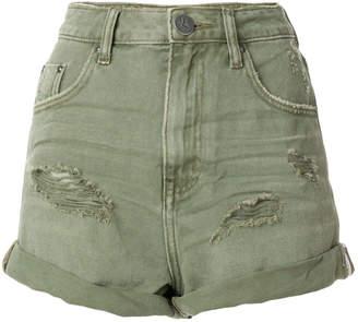 One Teaspoon classic slim-fit shorts