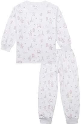 Kissy Kissy Parisian Stroll Print Pyjamas