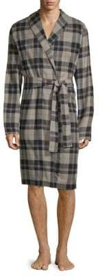 UGG Jon Plaid Cotton Robe