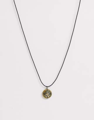 Classics 77 neck chain with engraved pendant in gold