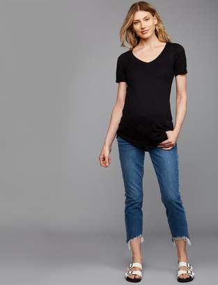 Joe's Jeans Smith Straight Crop Maternity Jeans