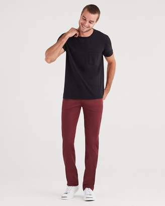 7 For All Mankind Luxe Sport Slimmy with Clean Pocket in Chianti