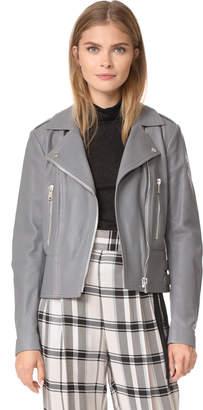 Belstaff Marvingt Polished Lambskin Jacket $1,395 thestylecure.com