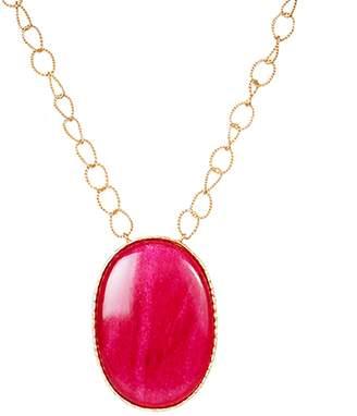 Christina Greene - Pendant Necklace in Red Quartz