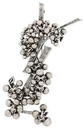 Saint Laurent Folk brooch