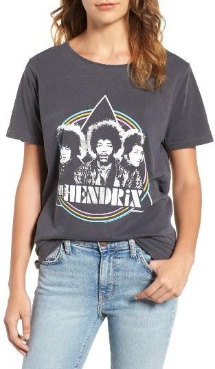 Women's Junk Food Jimi Hendrix Graphic Tee