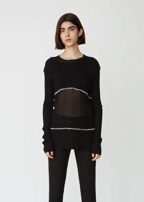 Ann Demeulemeester Unisex Cotton Wool Sweater