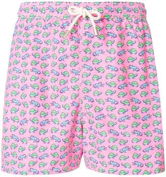 MC2 Saint Barth turtles monkeys swim shorts