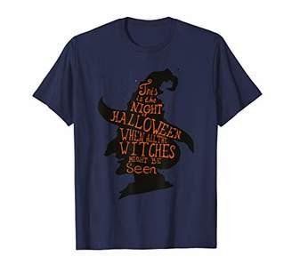 Wicca Halloween Witch's Head Women Girls Ladies Teen Witch T-Shirt