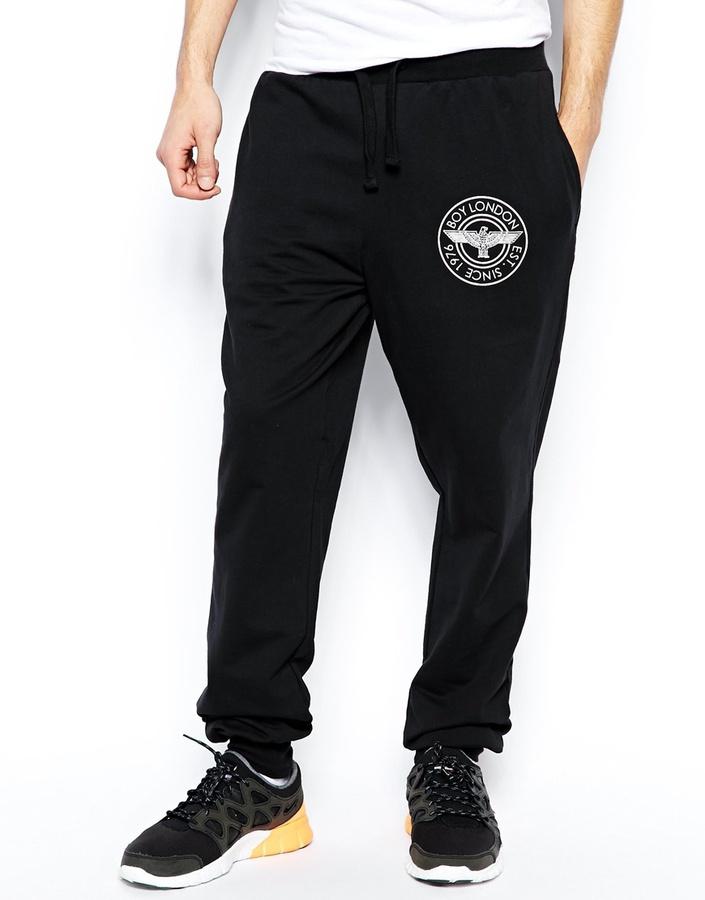 Boy London Sweatpants with Patch Logo