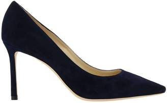 Jimmy Choo Pumps Pointed Romy Décolleté In Suede Leather