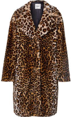 STAND - Camille Leopard-print Faux Fur Coat - Leopard print