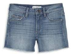 DL Premium Denim Toddler's, Little Girl's& Girl's Lucy Denim Shorts
