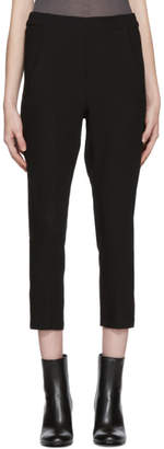 Ann Demeulemeester Black Slim Wool Trousers