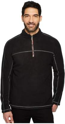 True Grit Bonded Polar Fleece and Sherpa 1/4 Zip Pullover Men's Clothing